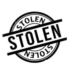 Stolen rubber stamp vector