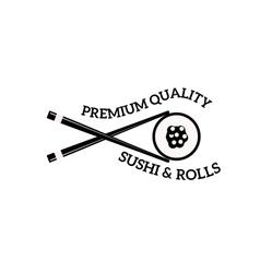 Sushi logo vector image
