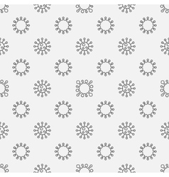 Virus seamless pattern vector