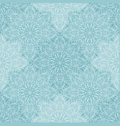 blue lace seamless pattern vector image vector image
