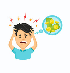 cartoon modern trendy stylish vector image
