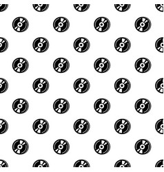 cd pattern seamless vector image
