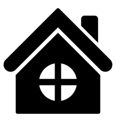 House Building Flat Icon vector