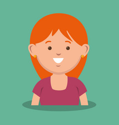 mother avatar character icon vector image