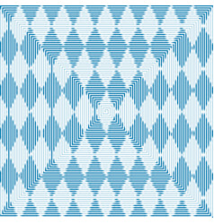 Oktoberfest blue abstract striped checkered backgr vector