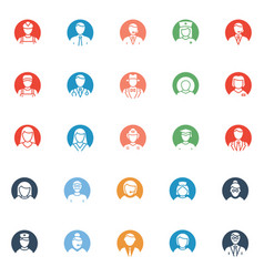 Professional icons set that can easily mod vector