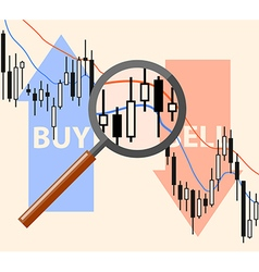 Market analysis concept vector image