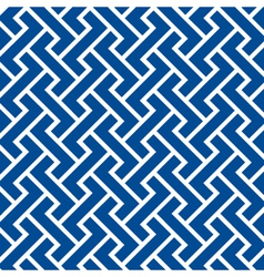 pattern seamless chevron blue vector image