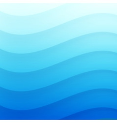 Blue Wavy background for your design vector image