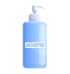 Antibacterial antiseptic icon cartoon style vector