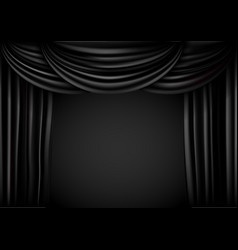 Background curtain stage vector