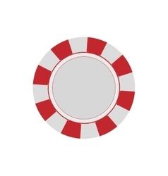 Casino chip concept vector image