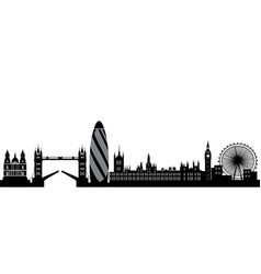 London skyline england city vector