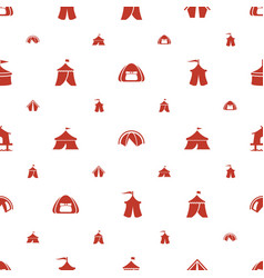 marquee icons pattern seamless white background vector image