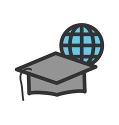 Online Graduation vector