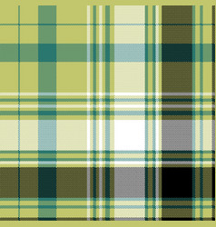 pixel check plaid textile texture seamless pattern vector image