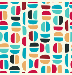 simple geometric seamless pattern with abstract vector image