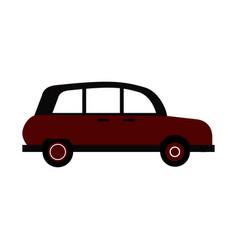 Vintage town car icon image vector