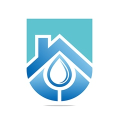 water drop shapes symbol design icon vector image