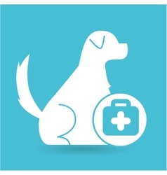 veterinary clinic concept first aid vector image vector image