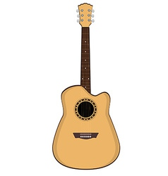 Brow guitar vector image