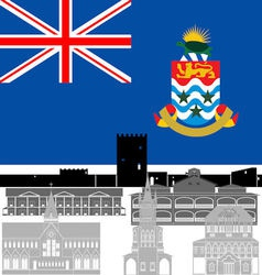 Cayman Islands vector image