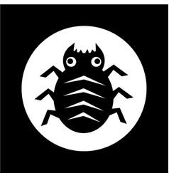 cyber bug icon design vector image