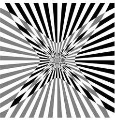 distortion monochrome texture with squares vector image