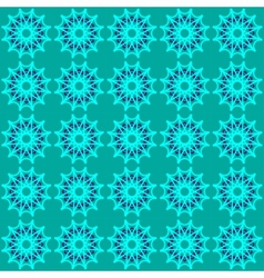 Green abstract geometric seamless pattern vector