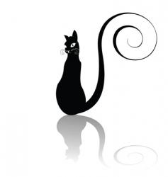 pussycat vector image