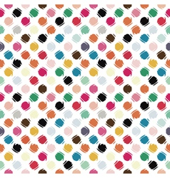 refracted polka dot vector image