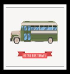 Retro Omnibus vector image