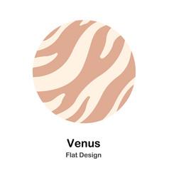 Venus flat vector