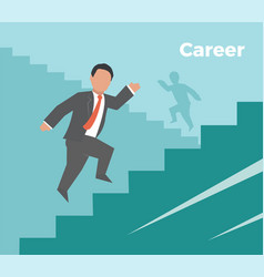 career concept business vector image