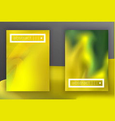 absract geometric cover set vector image