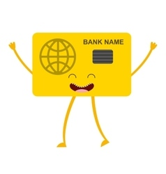 credit card bank icon vector image