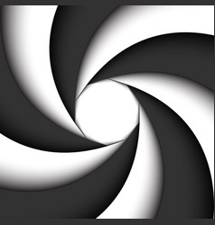 dark grey and white modern swirl abstract vector image