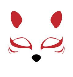 Fox mask eps vector