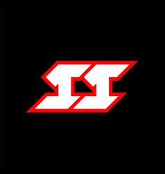ij logo design initial ij letter design vector image