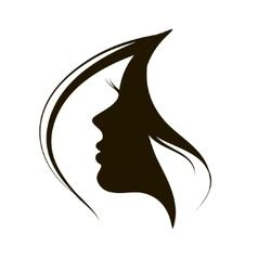 icon woman vector image