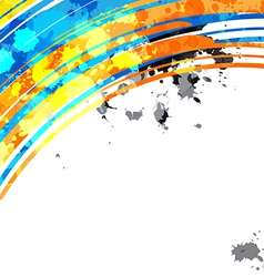abstract colorful background design layout vector image