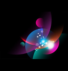 curve abstract vector image
