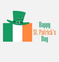 happy st patricks day festive background vector image