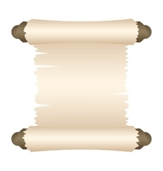 Manuscript blank paper vector image vector image