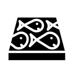Children play room floor glyph icon vector