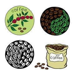 coffee 4 vector image