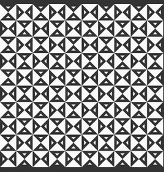 geometric pattern with triangular elements vector image