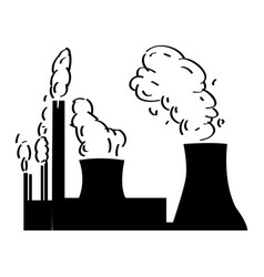 isolated energy plant vector image