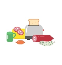 Quick lunch vector