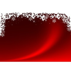 Red Xmas Background vector image